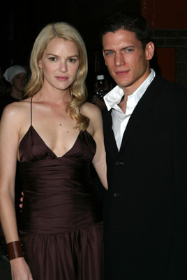 Jacinda Barrett and Wentworth Miller at The Human Stain (2003)