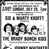 Eve Plumb, Susan Olsen, Christopher Knight, Mike Lookinland, Maureen McCormick, Johnny Whitaker, Jack Wild, and Barry Williams in The World of Sid & Marty Krofft at the Hollywood Bowl (1973)