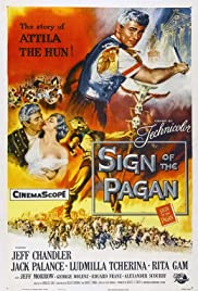 Sign of the Pagan(1954) Poster - Movie Forum, Cast, Reviews