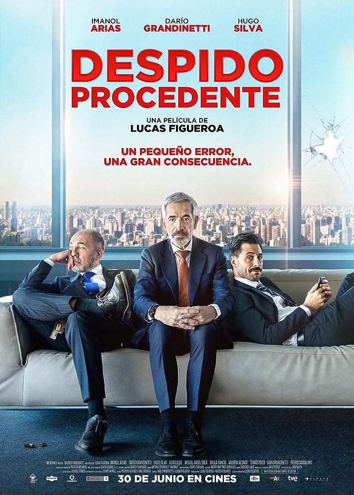 Imanol Arias, Darío Grandinetti, and Hugo Silva in Despido procedente (2017)