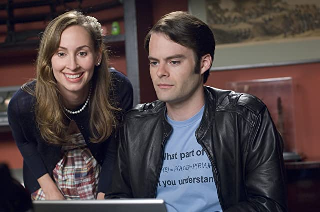 Bill Hader and Liz Cackowski in Forgetting Sarah Marshall (2008)