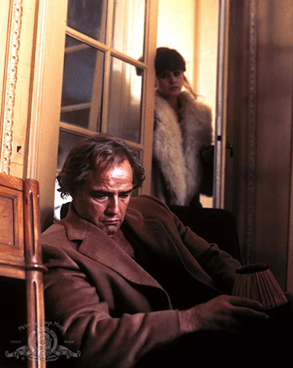 Marlon Brando and Maria Schneider in Last Tango in Paris (1972)