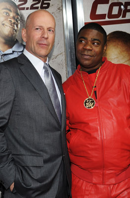 Bruce Willis and Tracy Morgan at Cop Out (2010)