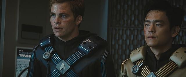 John Cho and Chris Pine in Star Trek (2009)
