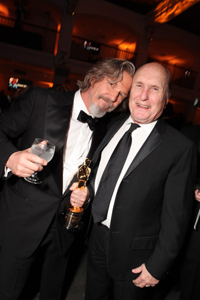 Jeff Bridges and Robert Duvall at The 82nd Annual Academy Awards (2010)