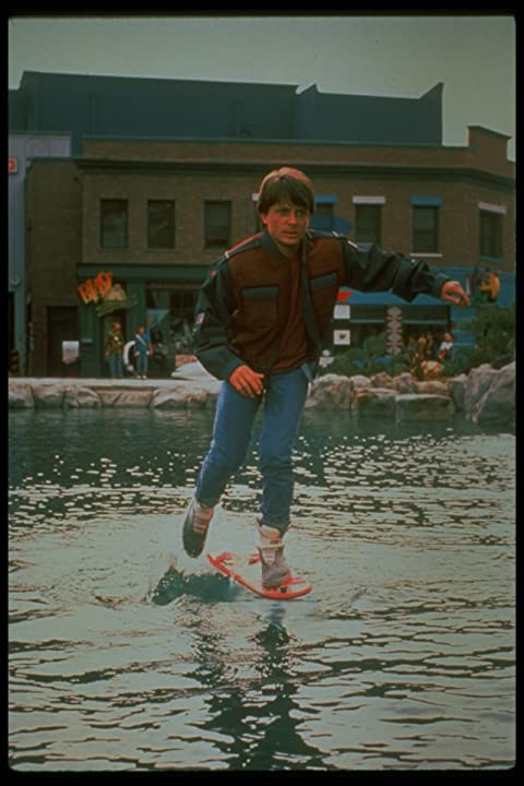 Michael J. Fox in Back to the Future Part II (1989)