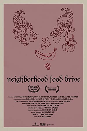 Neighborhood Food Drive Poster