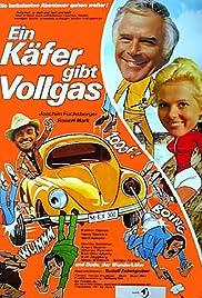 Ein Käfer gibt Vollgas(1972) Poster - Movie Forum, Cast, Reviews