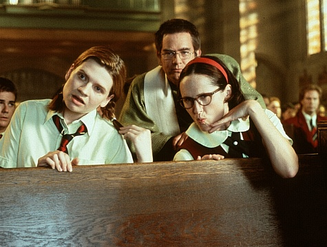 Emmy Laybourne, Mark McKinney, and Molly Shannon in Superstar (1999)