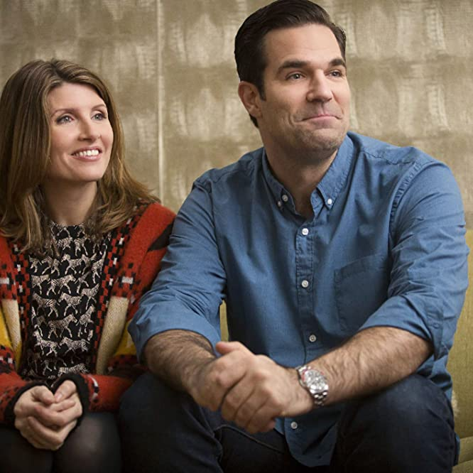 Sharon Horgan and Rob Delaney in Catastrophe (2015)