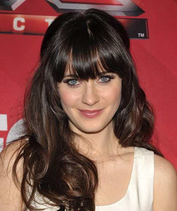 Zooey Deschanel at an event for The X Factor (2011)