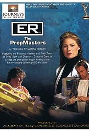 Journeys Below the Line: ER - The Prop Masters Poster