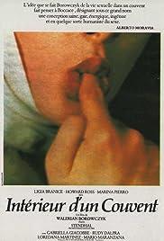 Interno di un convento Poster