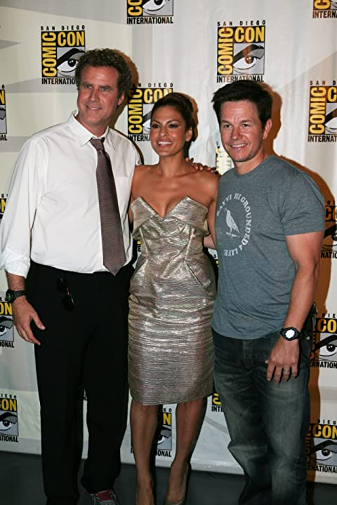 Mark Wahlberg, Will Ferrell, and Eva Mendes at The Other Guys (2010)