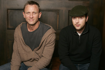 Daniel Craig and Matthew Vaughn at Layer Cake (2004)