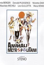 Animali metropolitani Poster