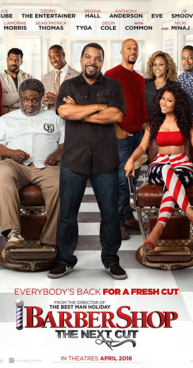 Barbershop: The Next Cut 2016 English Watch Full Movie Online Trialer