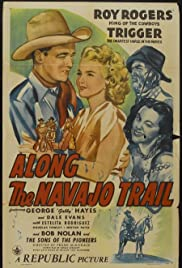 Along the Navajo Trail Poster