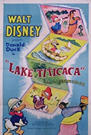 Donald Duck Visits Lake Titicaca Poster