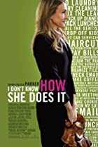 I Don't Know How She Does It (2011) Poster