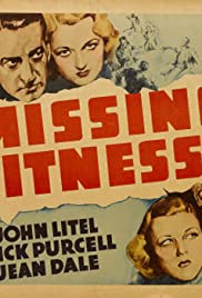 Missing Witnesses Poster