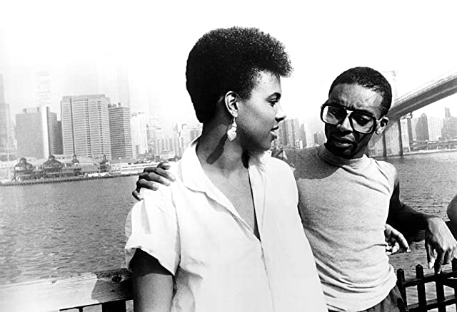 Spike Lee and Tracy Camilla Johns in She's Gotta Have It (1986)