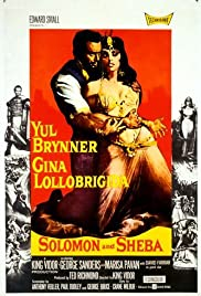 Solomon and Sheba Poster