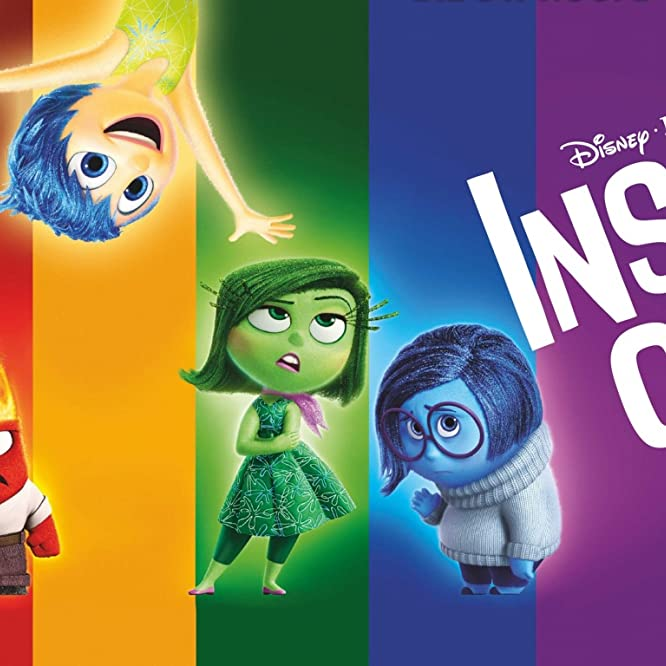 Lewis Black, Amy Poehler, Phyllis Smith, and Mindy Kaling in Inside Out (2015)
