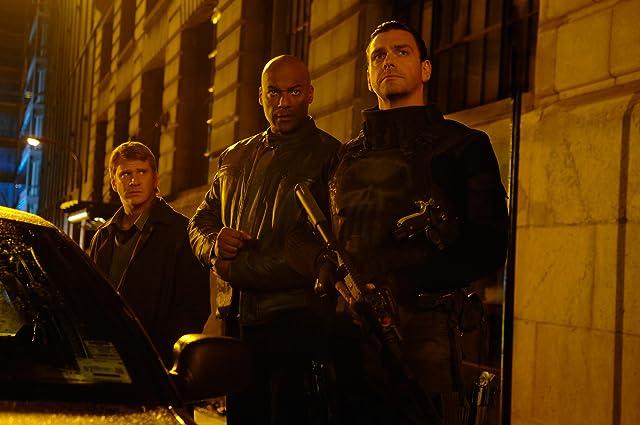 Dash Mihok, Colin Salmon, and Ray Stevenson in Punisher: War Zone (2008)