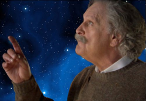 ED METZGER portrays ALBERT EINSTEIN in his nationally acclaimed theatrical one-man show touring at theaters throughout the country.