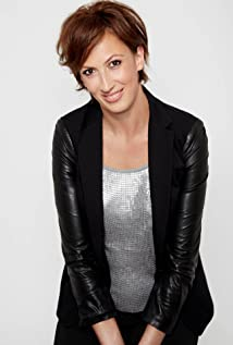Miranda Hart  - 2018 Regular brown hair & alternative hair style.
