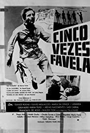 Cinco vezes Favela Poster