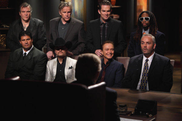Gary Busey, Meat Loaf, Mark McGrath, David Cassidy, Richard Hatch, Jose Canseco, Lil Jon, and John Rich in The Apprentice (2004)