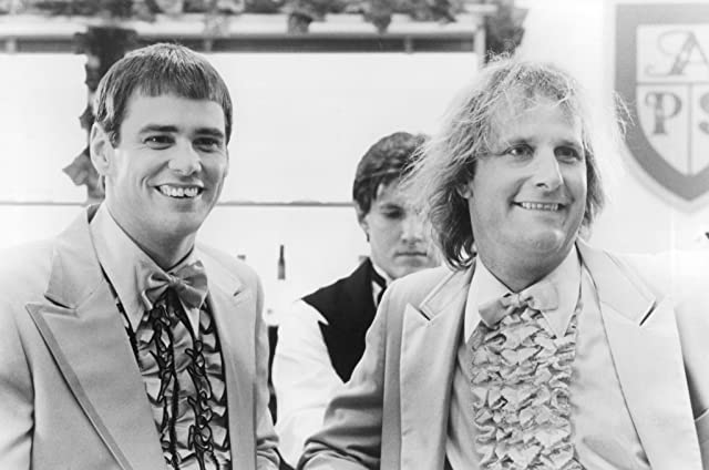 Jim Carrey and Jeff Daniels in Dumb & Dumber (1994)