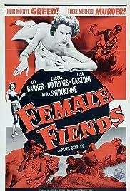 Female Fiends Poster