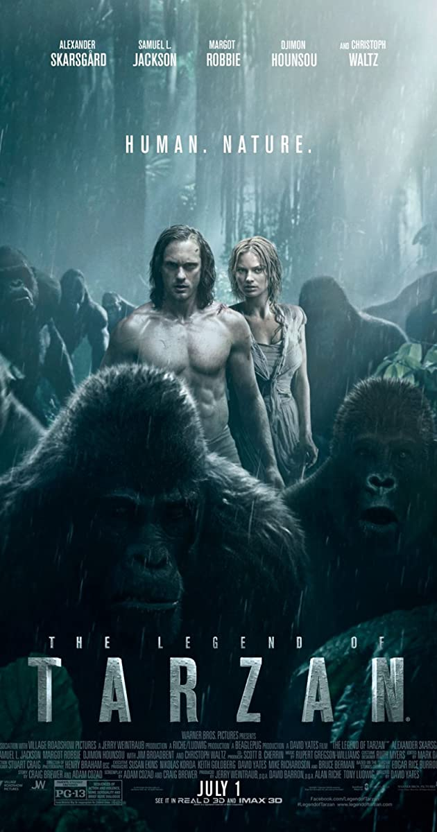 Tarzanas: džiunglių legenda / The Legend of Tarzan (2016) Online