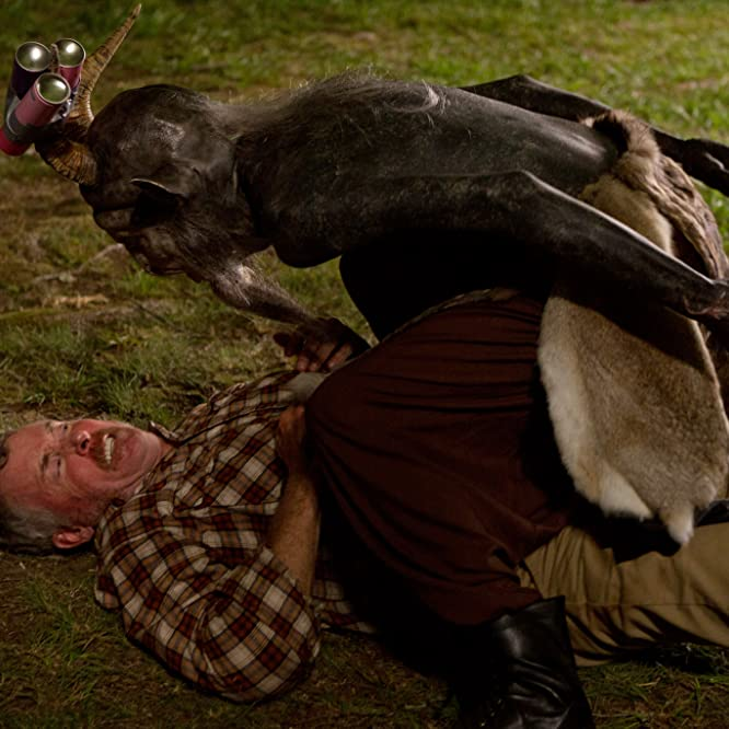 John C. McGinley and Mick Ignis in Stan Against Evil (2016)