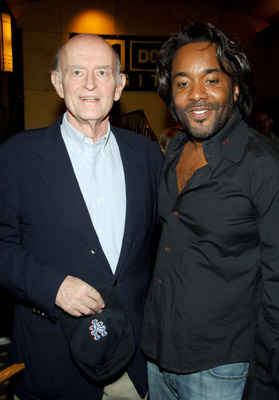 Peter Boyle and Lee Daniels at an event for Shadowboxer (2005)