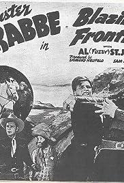 Blazing Frontier Poster