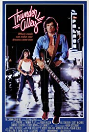 Thunder Alley (1985) Poster - Movie Forum, Cast, Reviews