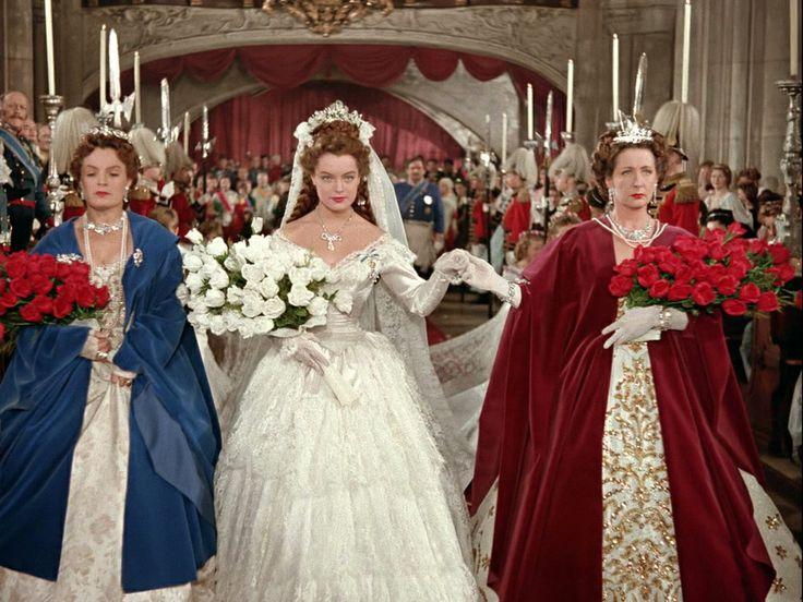 Sissi trouwjurk film