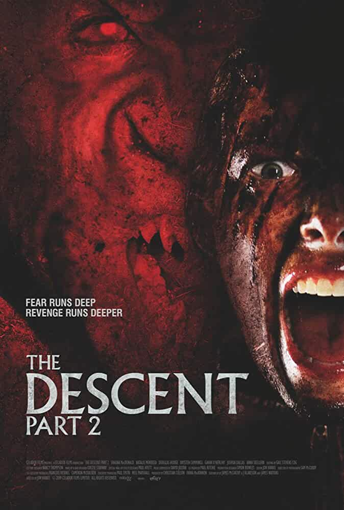 Poster The Descent Part 2 2009 Full HD Movie Download Dual Audio 720p Free