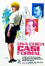 Una chica casi formal Poster
