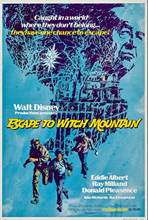 Escape to Witch Mountain poster