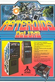Asteroids Deluxe Poster