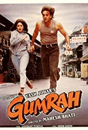 Gumrah (1993) Poster - Movie Forum, Cast, Reviews