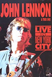 John Lennon Live in New York City Poster