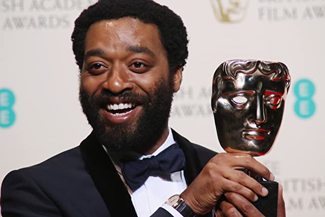 Chiwetel Ejiofor at The EE British Academy Film Awards (2014)