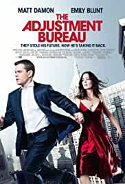 The Adjustment Bureau 2011 BluRay 480p 300MB Dual Audio ( Hindi – English ) MKV