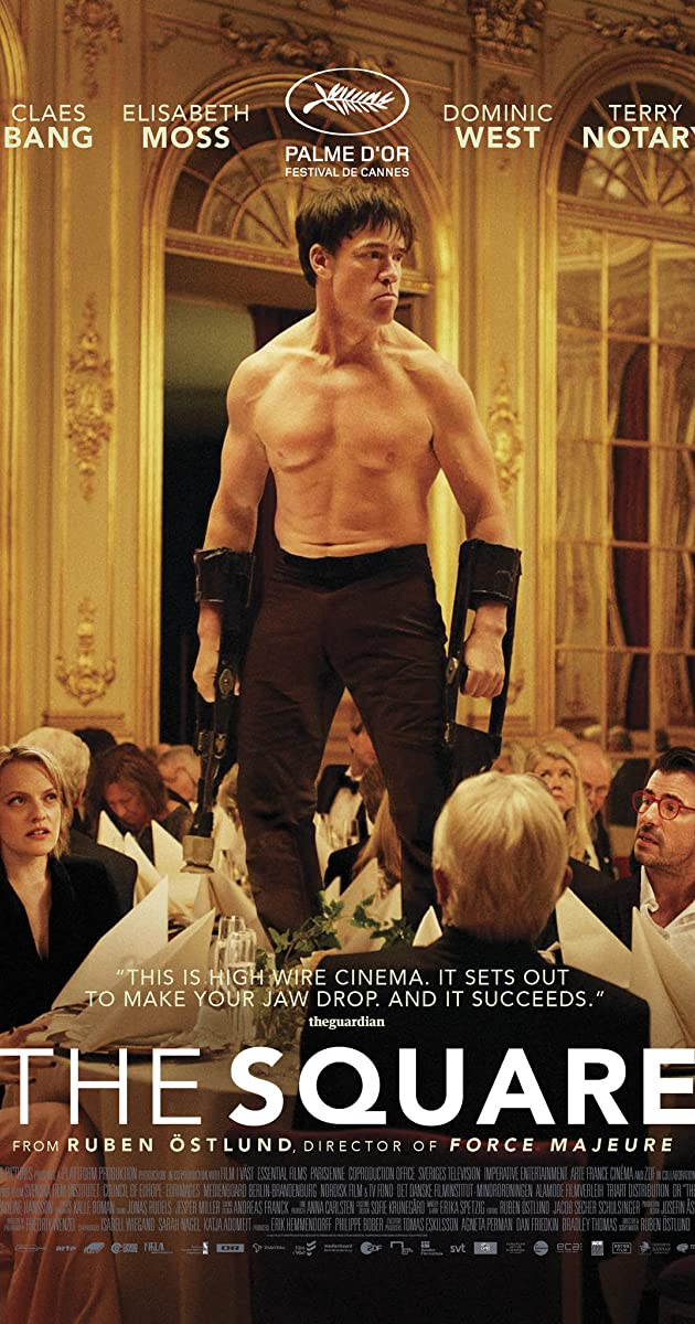 Kvadratas / The Square (2017) online